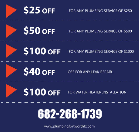 coupon plumbing cleaning services fort worth tx